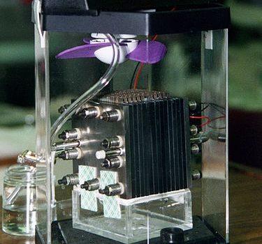 Funktionsweise Brennstoffzelle